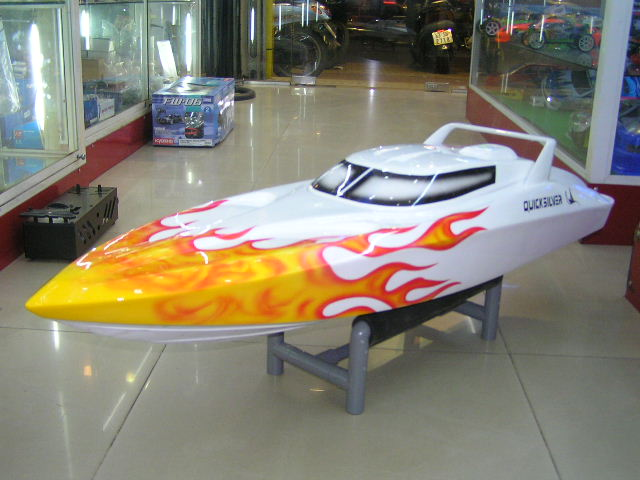 Fantasy RC gas boat Zenoah 26cc RTR 2.4G