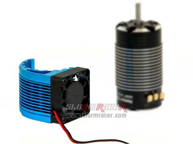 Heat Sink CNC w/Fan for Motor ø42 007