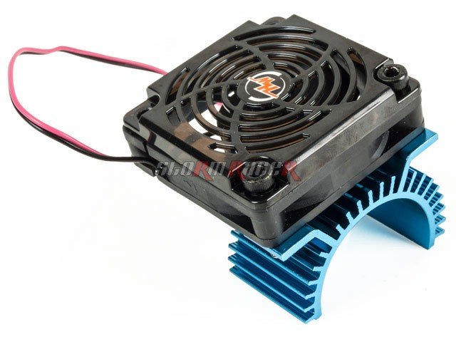 Heat sink w/Fan HobbyWing 50mm for Motor size 36mm