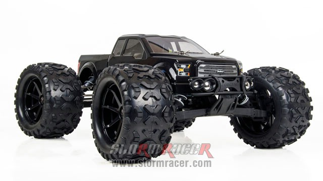 HoBao Monster Nitro 1/8 BLACK 002