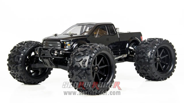 HoBao Monster Nitro 1/8 BLACK 003