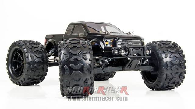 HoBao Monster Nitro 1/8 BLACK 010