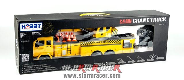 Crane Truck Premium Label 2.4G #0712 001
