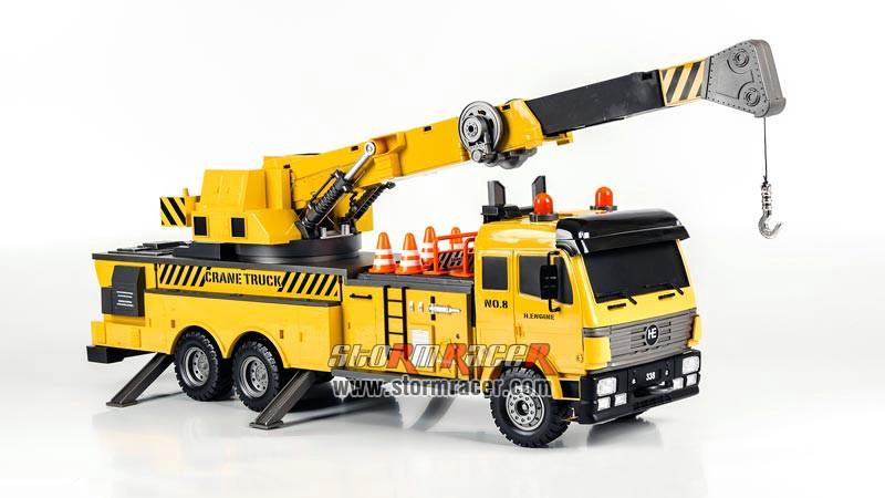 Crane Truck Premium Label 2.4G #0712 009