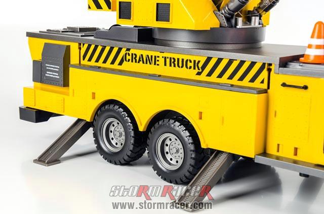Crane Truck Premium Label 2.4G #0712 027