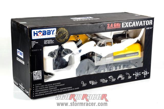 Excavator Premium Label 2.4G #0703 001