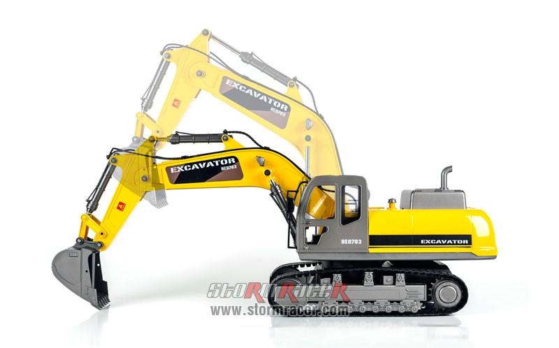 Excavator Premium Label 2.4G #0703 011