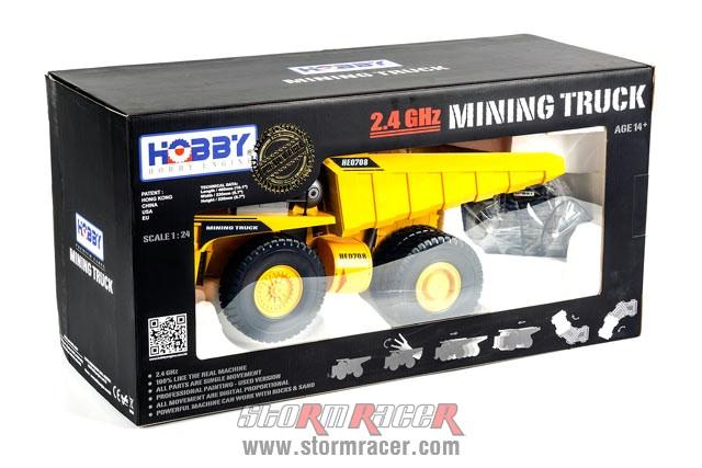 Mining Truck Premium Label 2.4G #0708 001