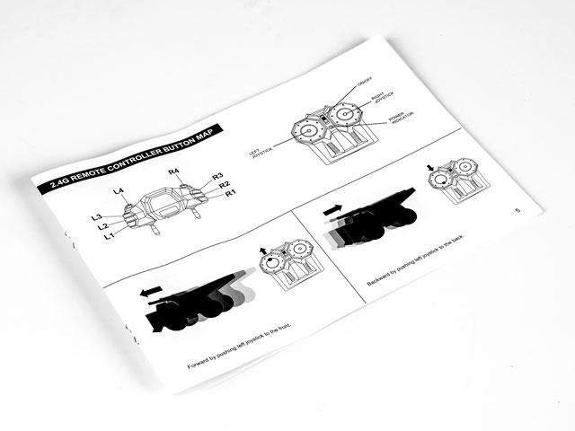 Wheeled Loader Premium Label 2.4G #0706 009