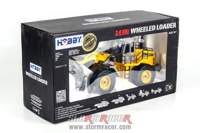 Wheeled Loader Premium Label 2.4G #0706 001