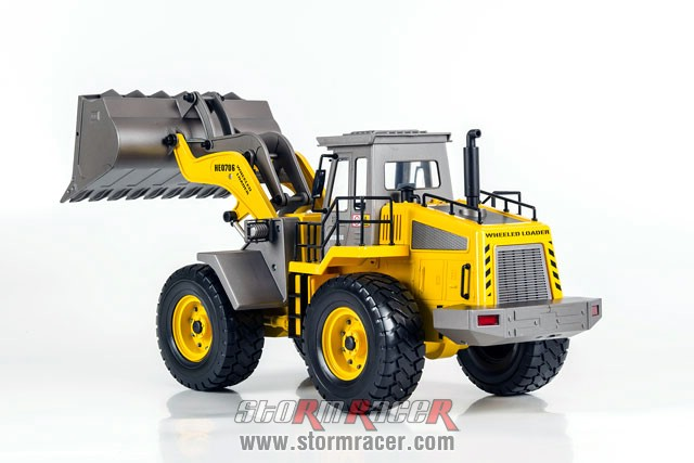 Wheeled Loader Premium Label 2.4G #0706 008