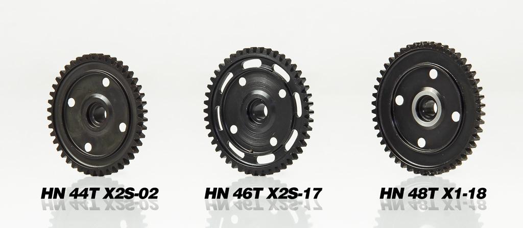 Hongnor 1/8 Steel Spur Gear 44T #X2S-02 005