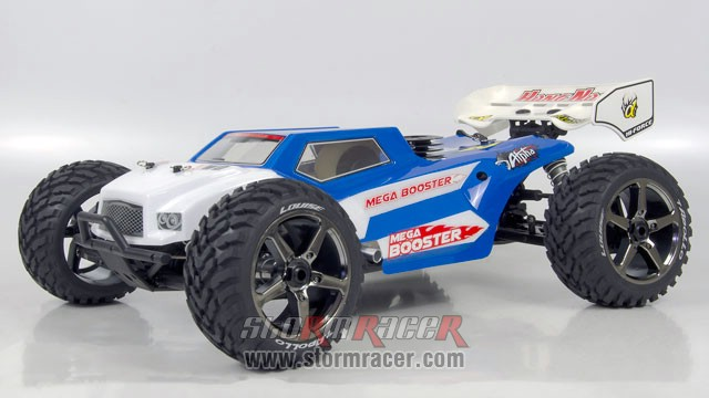 Truggy X2 BOOSTER Nitro Alpha.28-RC4GS 004