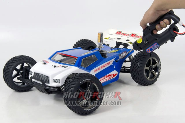 Truggy X2 BOOSTER Nitro Alpha.28-RC4GS 006
