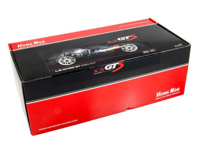Hongnor X3 GTS Kit 80% 001