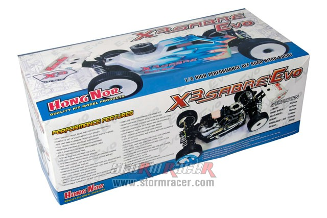 Hongnor 1/8 Buggy X3 SABRE Evo.2 Kit 80%-2018 001