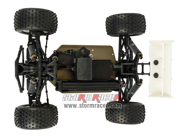 HongNor Mini Truggy CRT-5 1/12 Electric Kit 80% 010