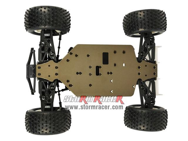 HongNor Mini Truggy CRT-5 1/12 Electric Kit 80% 011