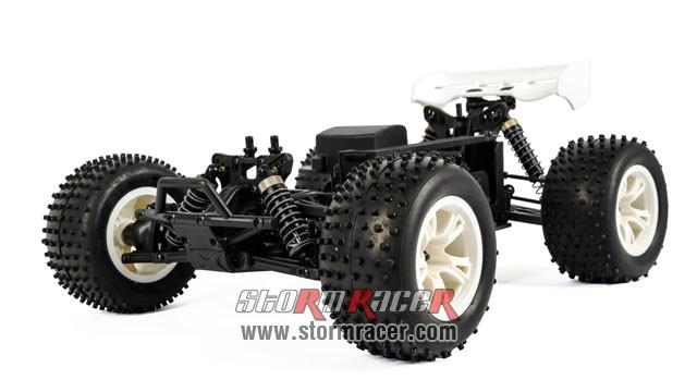 HongNor Mini Truggy CRT-5 1/12 Electric Kit 80% 013