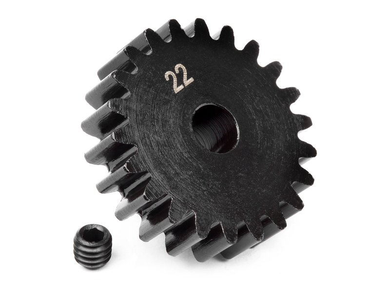 Pinion Gear 22T (1M/5mm) #100921 600
