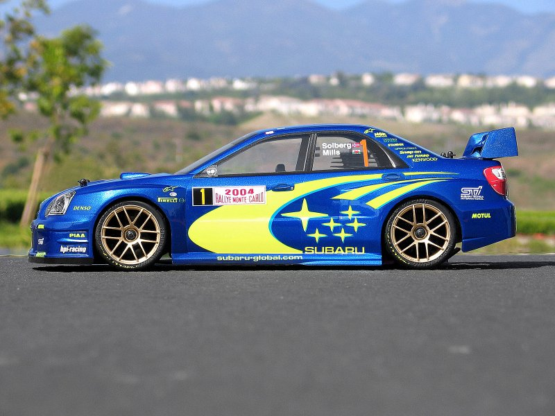 HPI 1/10 Body Subaru Impreza WRC (200mm) #17505 600