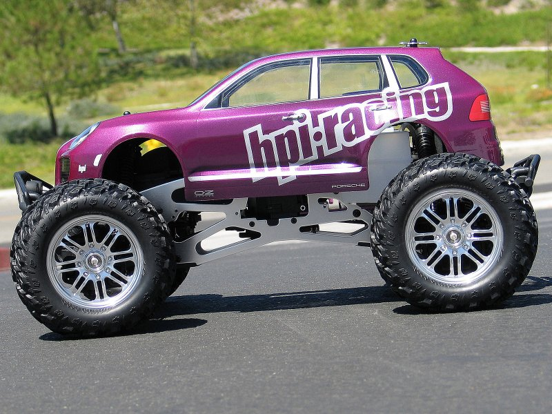 HPI 1/10 Body SUV Porsche Cayenne Turbo #17512 600