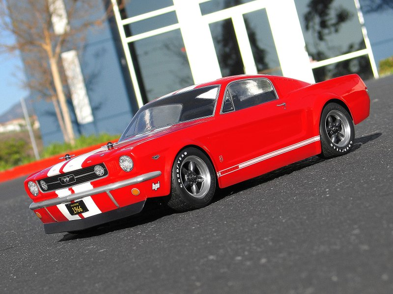 HPI 1/10 Body Ford Mustang GT 1966 (200mm) #17519 600