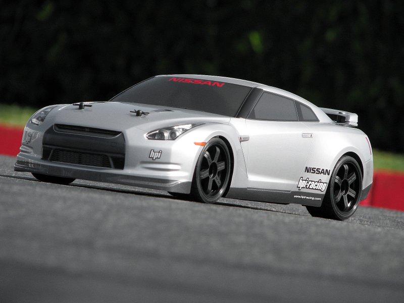 HPI 1/10 Body Nissan GT-R (R35) (200mm) #17538 600