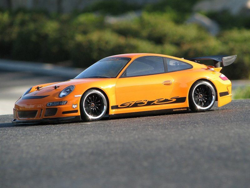 HPI 1/10 Body Porsche 911 GT3 RS (200mm) #17541 600