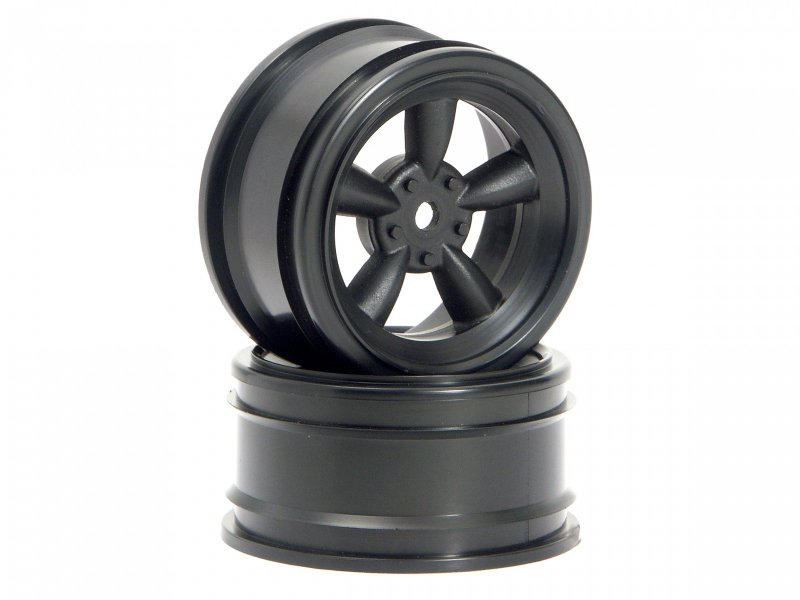 HPI Vintage 5 Spoke Wheel 26mm Black (2P) #3816 600