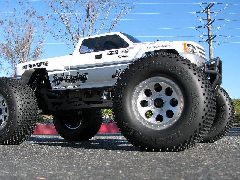 HPI 1/8 Truck Body GT Gigante #7124 600