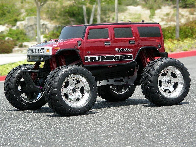 HPI 1/10 Body SUV Hummer H2 #7165 600