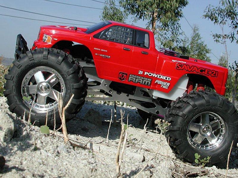 HPI 1/8 Truck Body Dodge Ram 2002 #7178 600