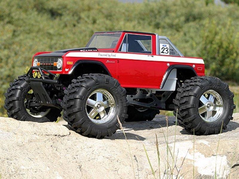HPI 1/10 Body SUV Ford Bronco 1973 #7179 600