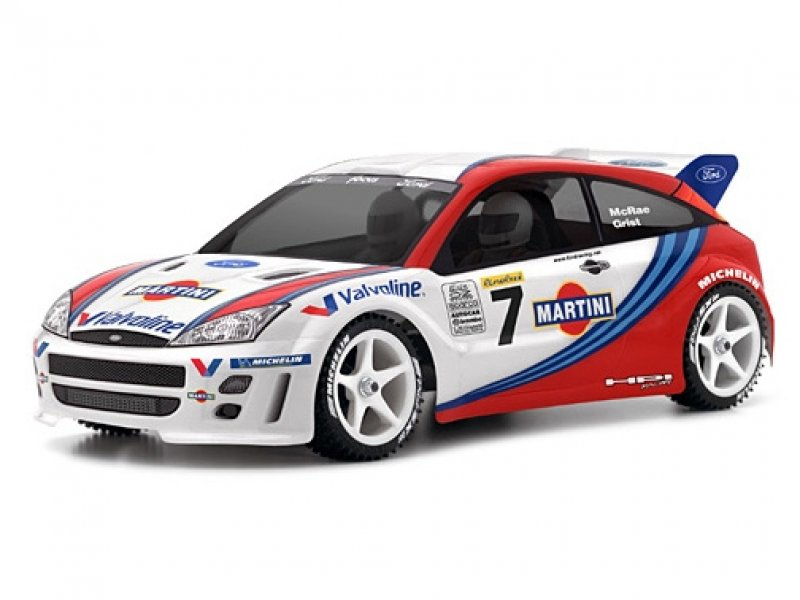 HPI 1/10 Body Ford Focus WRC (200mm) #7412 600
