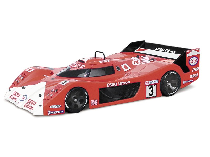 HPI 1/8 Racing Body Toyota GT-One TS020 #7581 600