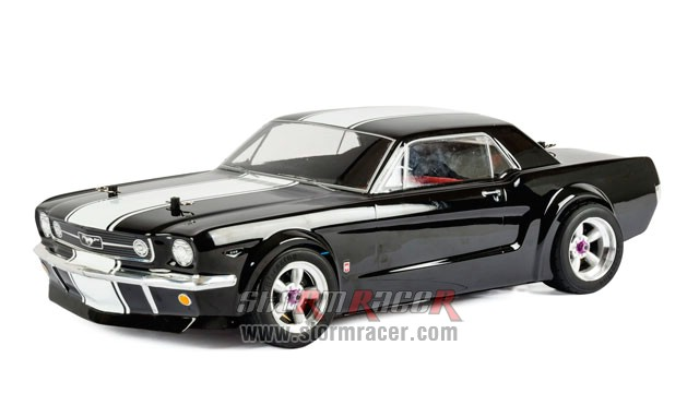 HPI 1/10 Body Ford Mustang GT Coupe 1966 (200mm) #104926 001