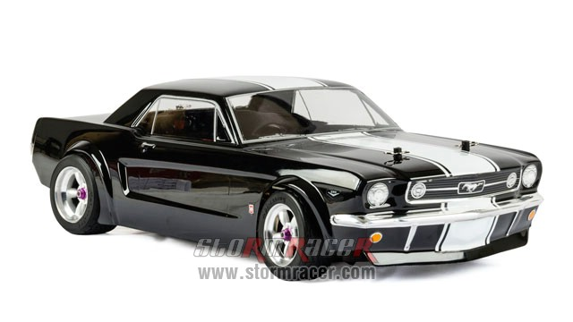 HPI 1/10 Body Ford Mustang GT Coupe 1966 (200mm) #104926 008