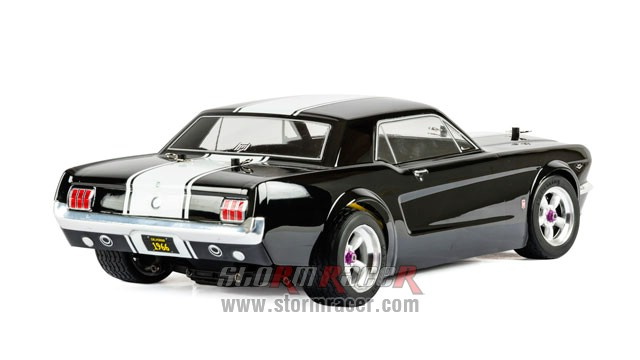 HPI 1/10 Body Ford Mustang GT Coupe 1966 (200mm) #104926 011