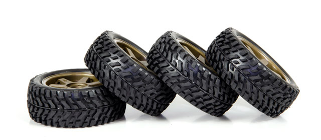 HPI 1/10 Rally Tires Set #3843-4 (30mm) 003
