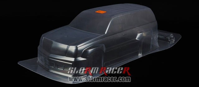 HPI 1/10 Body SUV Cadillac Escalade #7490 005