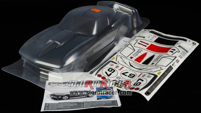 HPI 1/10 Body Chevrolet Corvette 1967 (200mm) #17526 003