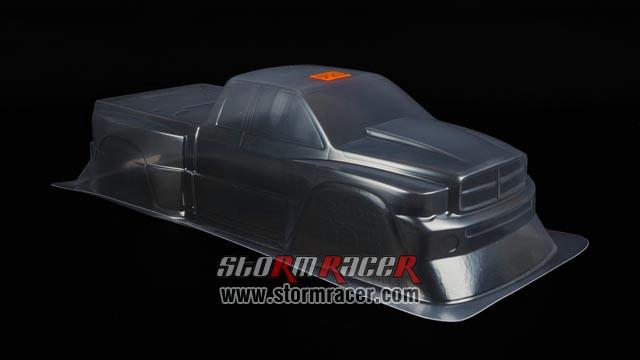 HPI 1/8 Truck Body Dodge Ram 2002 #7178 005
