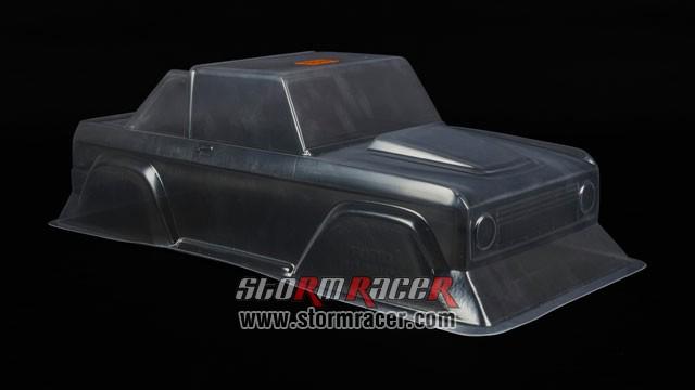 HPI 1/10 Body SUV Ford Bronco 1973 #7179 005