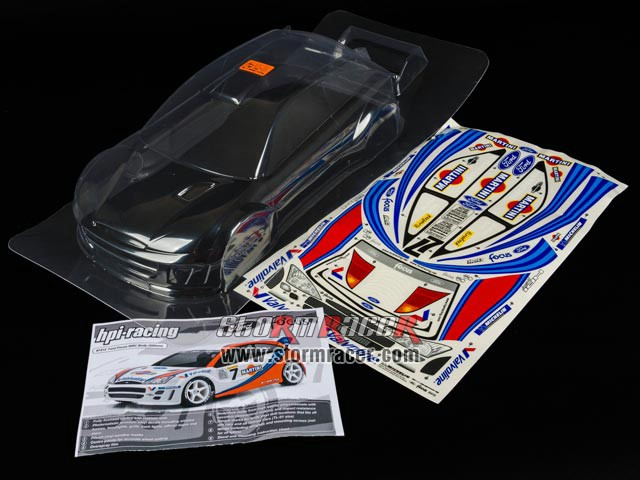 HPI 1/10 Body Ford Focus WRC (200mm) #7412 003