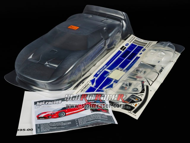 HPI 1/10 Body Ford GT (200mm) #7495 003