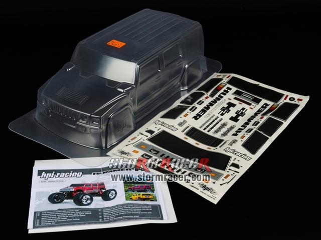 HPI 1/10 Body SUV Hummer H2 #7165 003