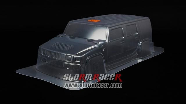 HPI 1/10 Body SUV Hummer H2 #7165 004