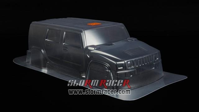 HPI 1/10 Body SUV Hummer H2 #7165 005