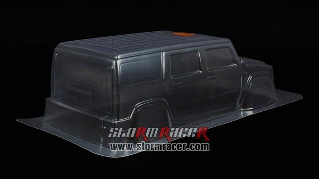 HPI 1/10 Body SUV Hummer H2 #7165 006